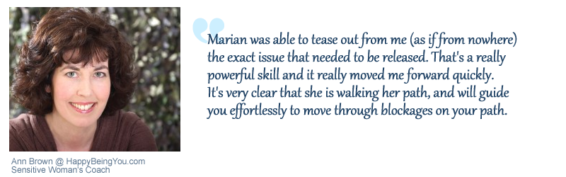 testimonial from Ann Brown for Marian Mills