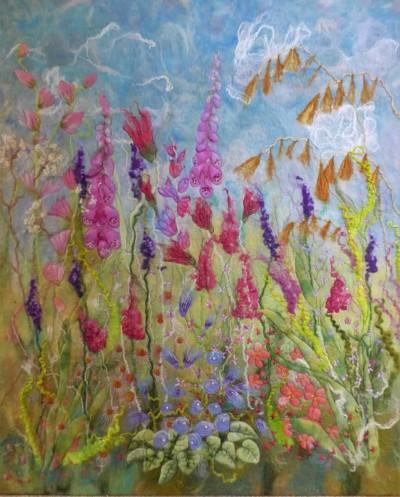 summer-glory-felt-textile-art-wall-hanging-marian-may