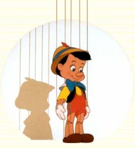 being authentic Pinocchio freedom