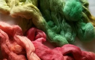 wilton kelly green yellow burgundy food colour wool dyeing