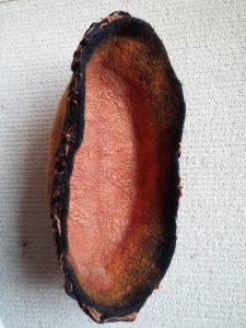 terracotta-like-oval-bowl-nuno-silk-wool-inside