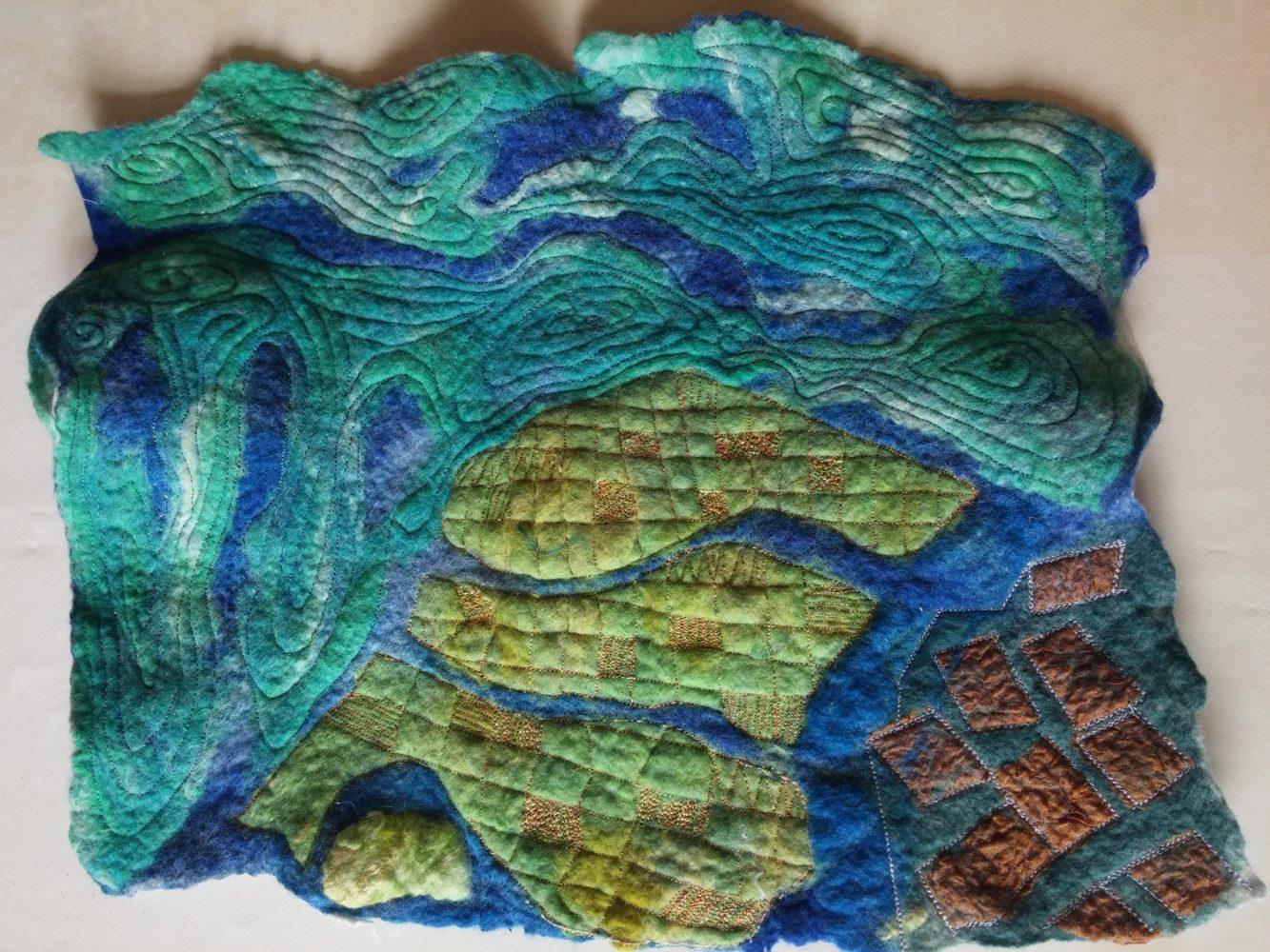 venice lagoon felt art handmade blythwhimsies 2016-04-10 11.43.57