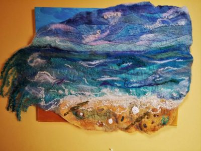 southwold sea sand beach felt art hanging blythwhimsies marian may2016-04-14 18.08.32